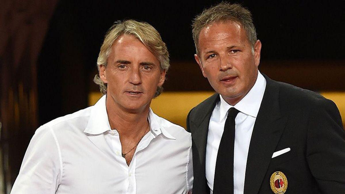 La solidaria apuesta entre los técnicos del Inter y el Milan en favor de los refugiados