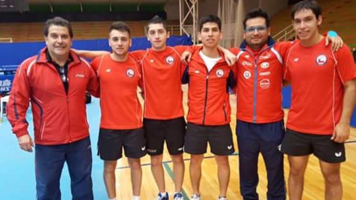 Chile se corona campeón sudamericano de tenis de mesa
