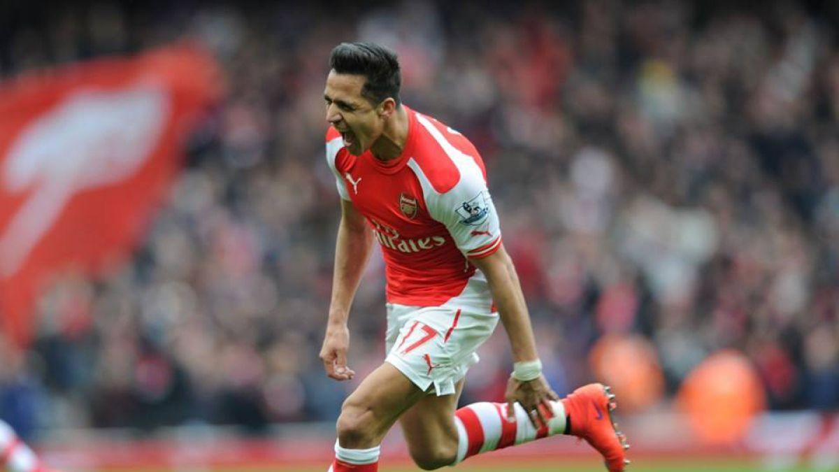Volante del Arsenal llena de elogios a Alexis