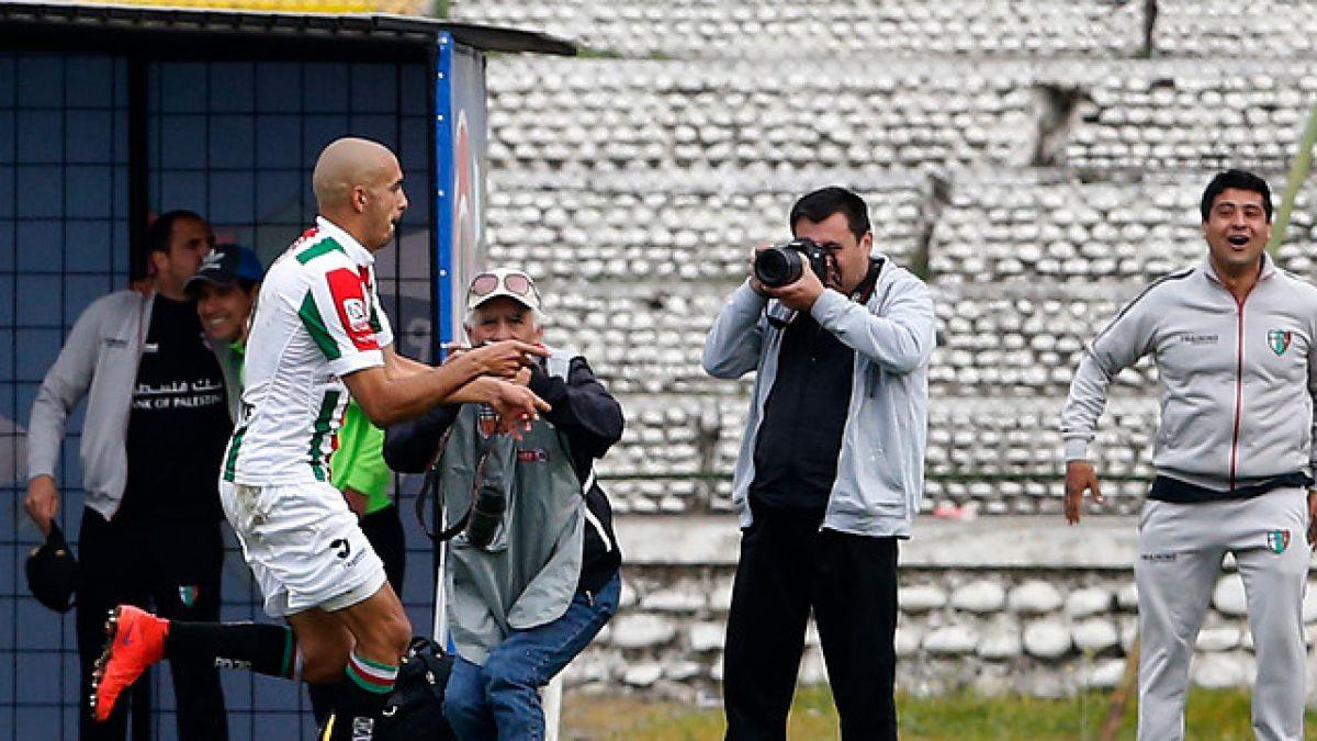 Goleador del torneo da valioso triunfo a Palestino ante Wanderers