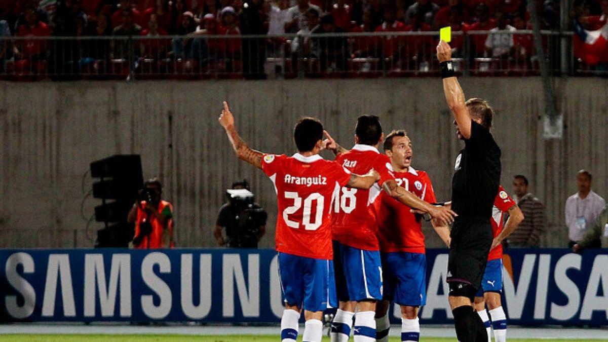 """El historial de Néstor Pitana dirigiendo a la """"Roja"""" y a clubes chilenos"""