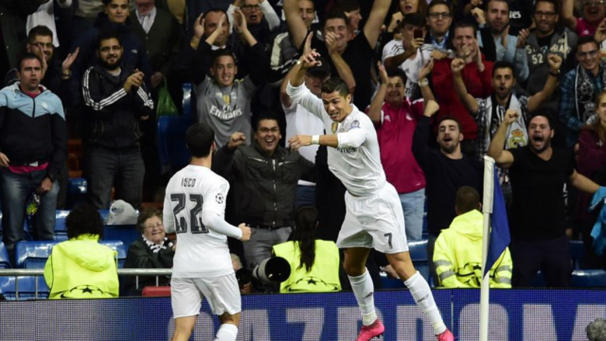 Real Madrid debuta goleando en Champions con show de Cristiano Ronaldo