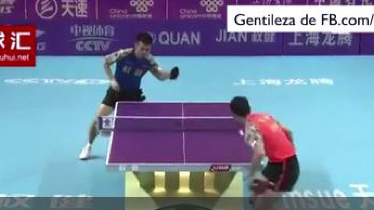 ¿El mejor punto en la historia del ping pong? ¡No te lo pierdas!
