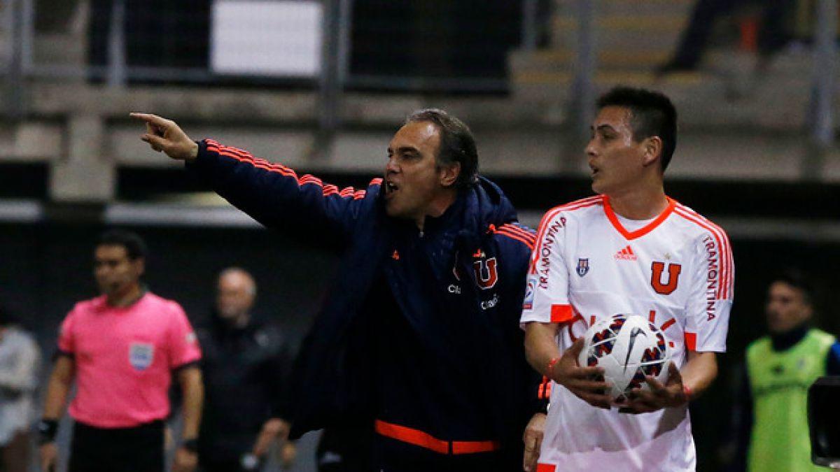 """Lasarte tras derrota ante Audax: """"Yo sigo en la U hasta el final"""""""