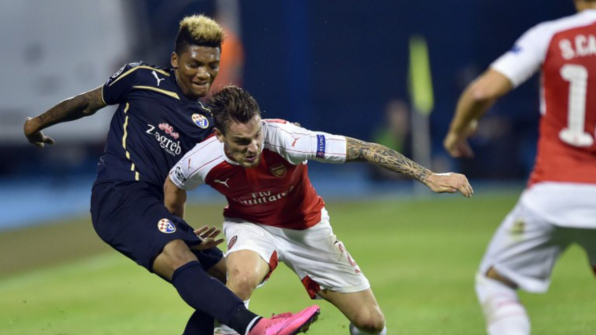 Con gol de Junior Fernandes, Dinamo da sorpresa y vence a Arsenal de Alexis
