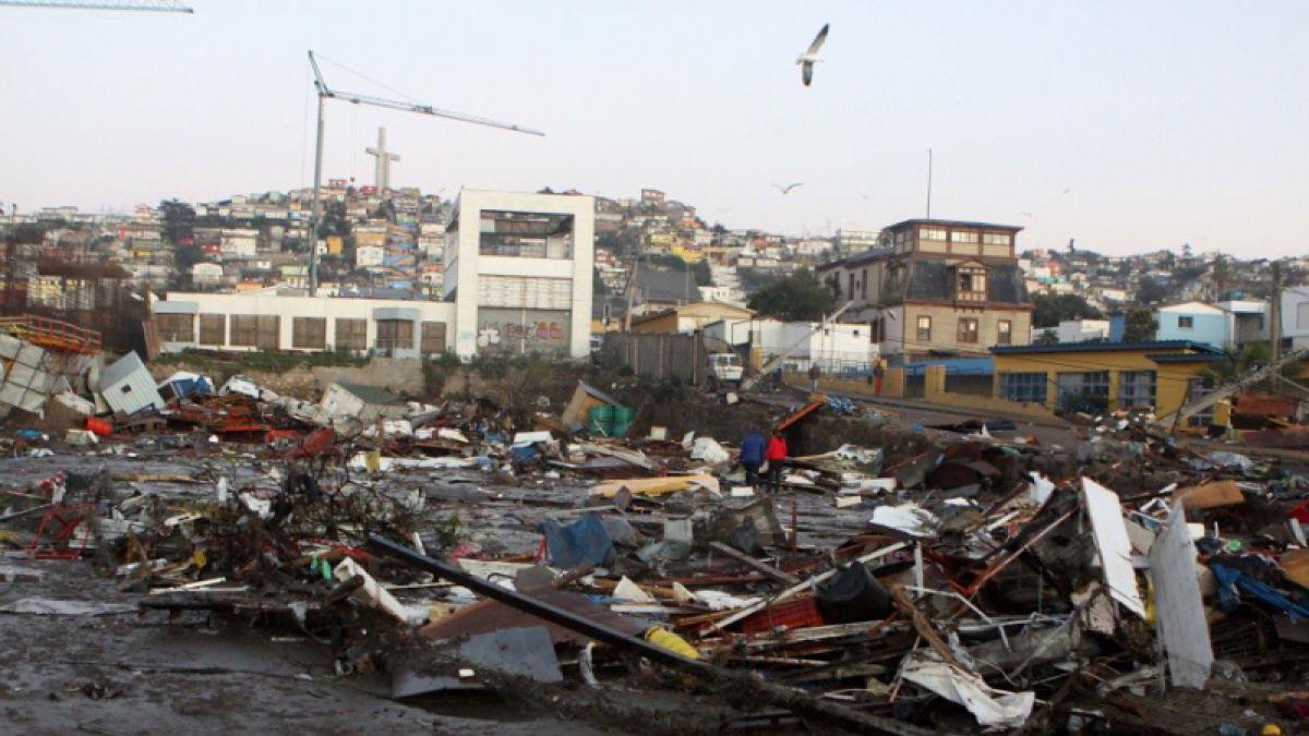 El terremoto del 27/F liberó cuatro veces más energía que el sismo de Illapel