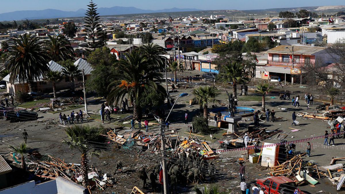"""Terremoto de Illapel: BCI Estudios anticipa """"bajo impacto económico"""""""
