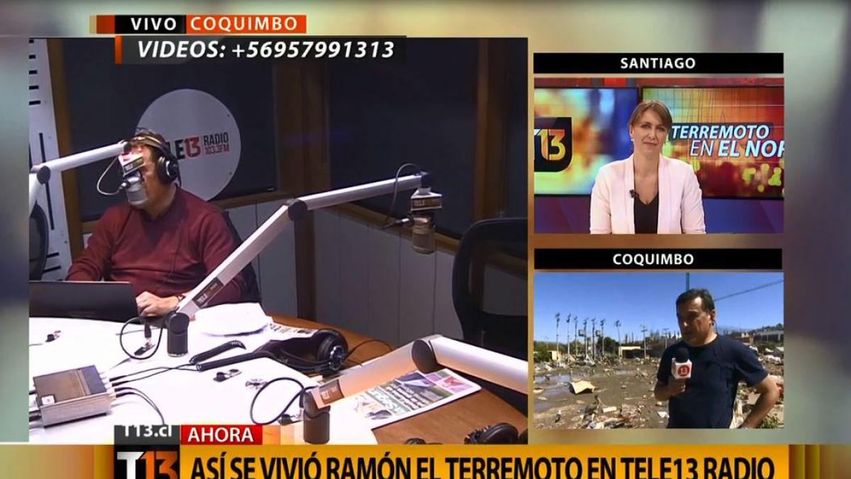 Ramón Ulloa explica su tranquila reacción en medio del terremoto
