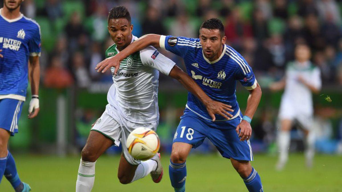 Triunfal debut de Mauricio Isla en Marsella que golea en Europa League