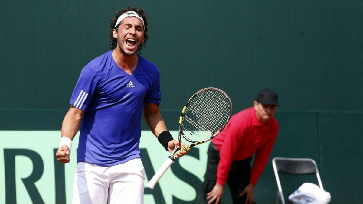 Gonzalo Lama consigue primer punto de serie de Copa Davis ante Venezuela