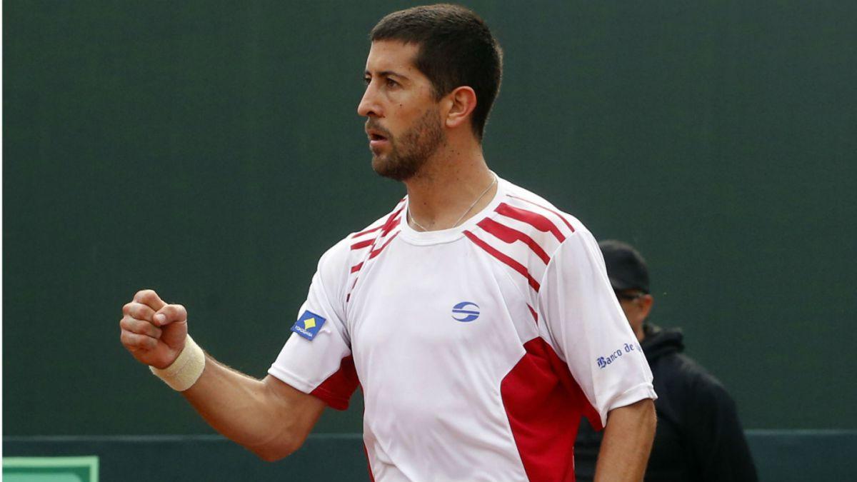 Copa Davis: Podlipnik triunfa y deja con ventaja de dos puntos a Chile ante Venezuela