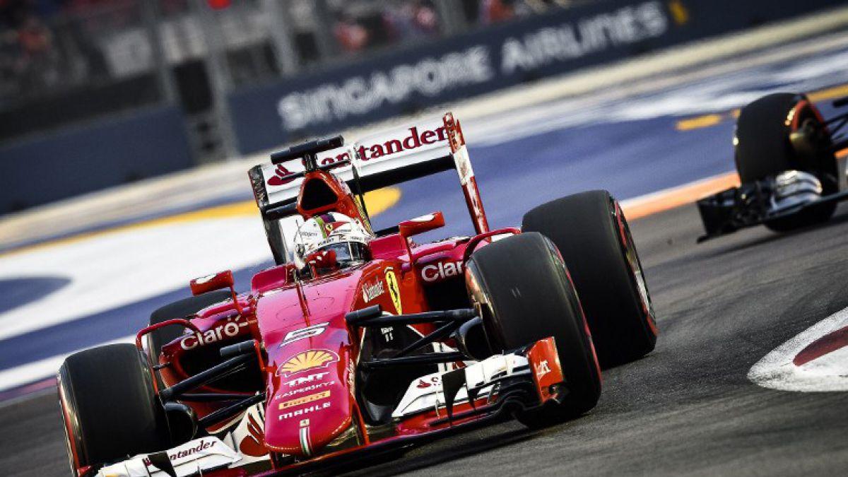 Sebastian Vettel junto a Ferrari se queda con la Pole del GP de Singapur