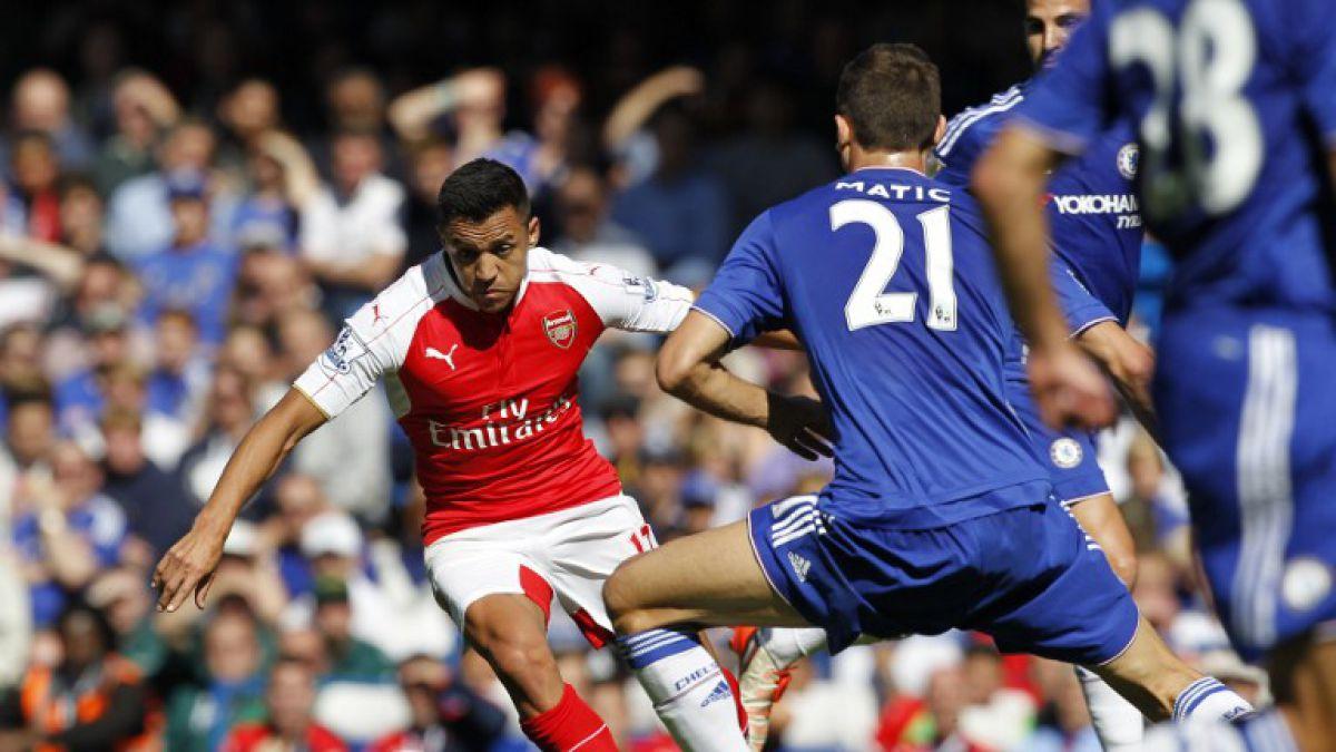 Alexis Sánchez vive mala racha con Arsenal: Cae con Chelsea en la Premier