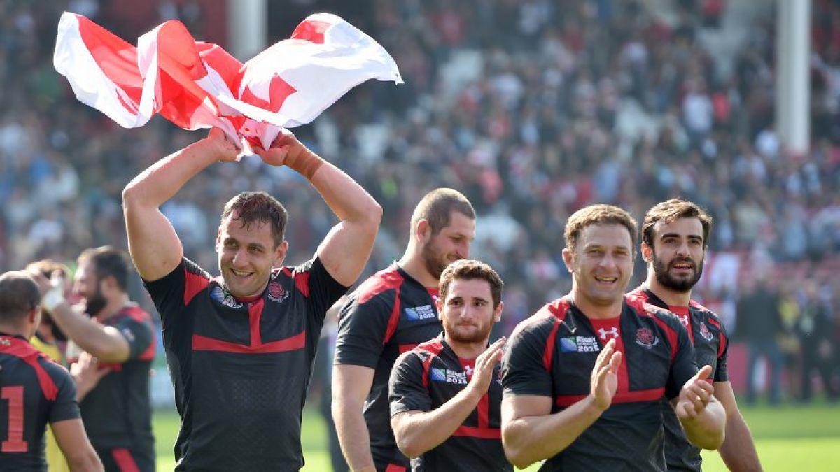 Mundial de Rugby: Georgia avisa a Argentina con victoria sobre Tonga