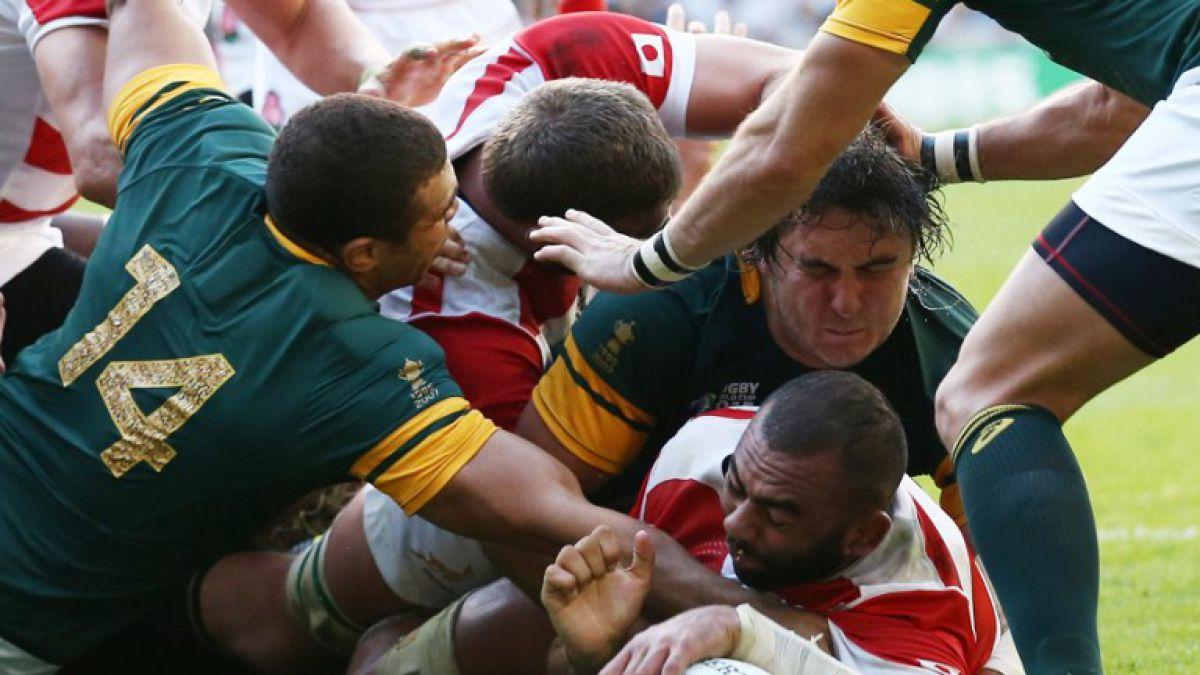 ¡Sorpresa en el rugby! Sudáfrica cae ante Japón en su debut en el Mundial