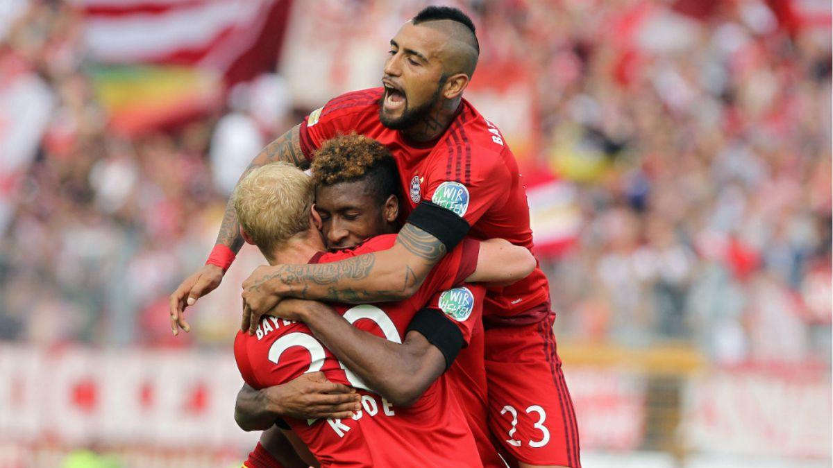 Arturo Vidal expresa por redes sociales su alegría por primer gol en la Bundesliga