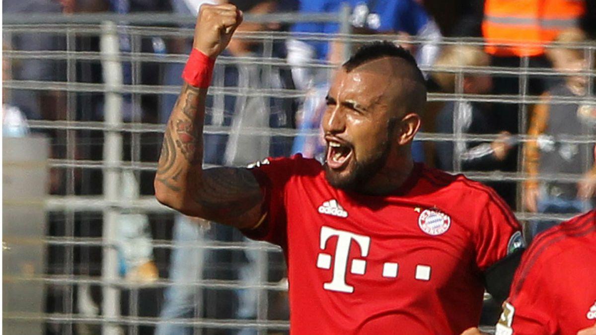 El aliento de Arturo Vidal para Bayern Munich en duelo ante Dinamo Zagreb
