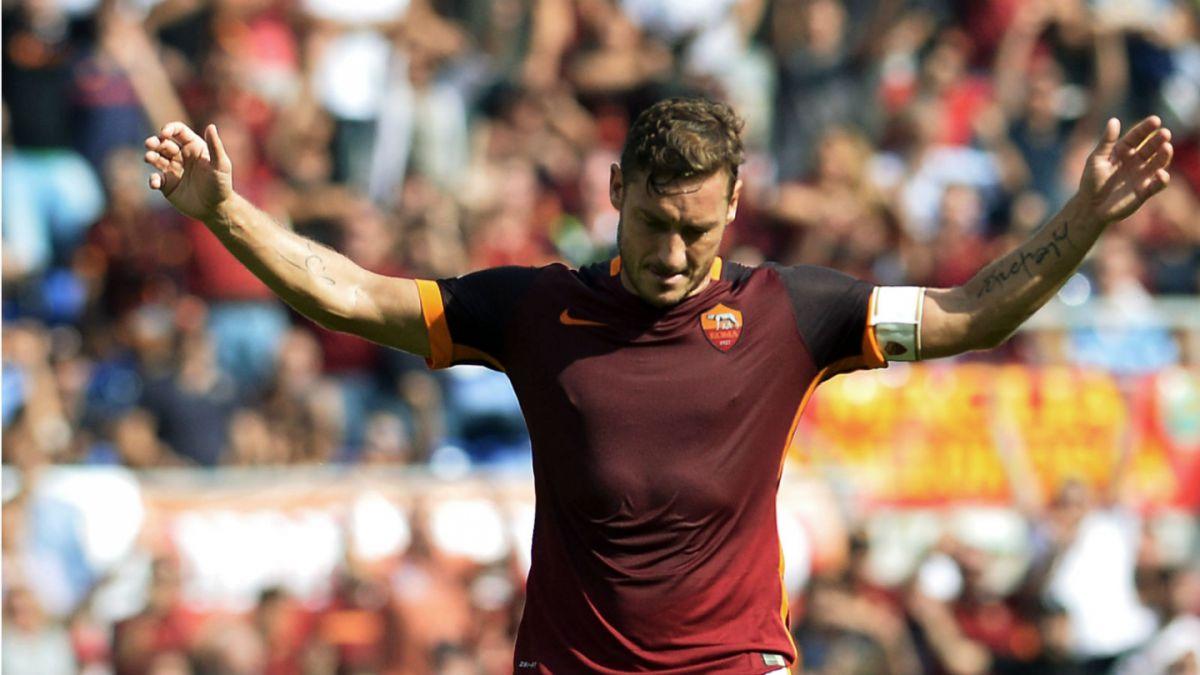 Totti sigue vigente: Ha marcado cuatro goles en los últimos 52 minutos que ha disputado