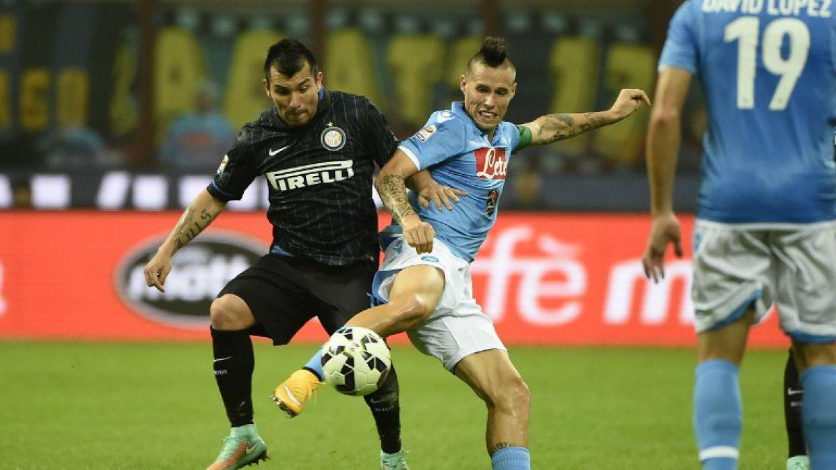 Ante críticas a su defensa el DT de Inter volvería a utilizar a Medel en mediocampo
