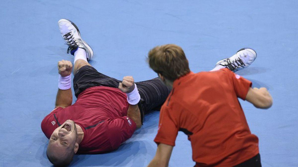 Bélgica vence a Argentina y por primera vez jugará final de Copa Davis