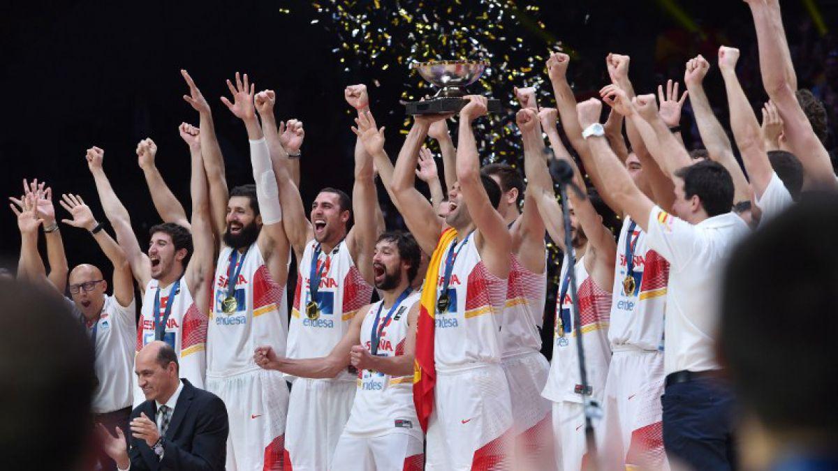 España se corona campeón de Europa en Basquetbol