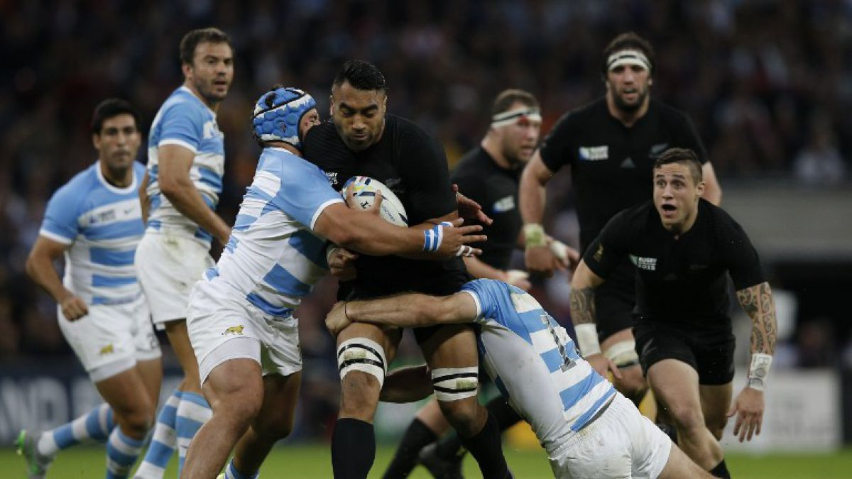[VIDEO] All Blacks realizan guardia de honor a Pumas de Argentina en Mundial de Rugby