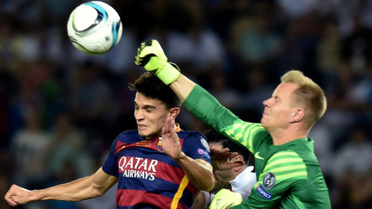 [VIDEO] Los tres errores que condenan a Marc Ter Stegen en el arco del Barcelona