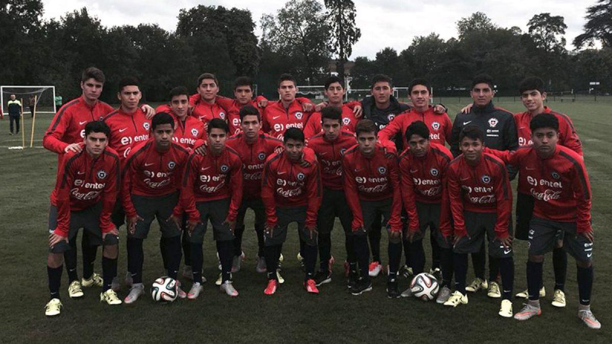 La Roja Sub 17 continua invicta en su gira