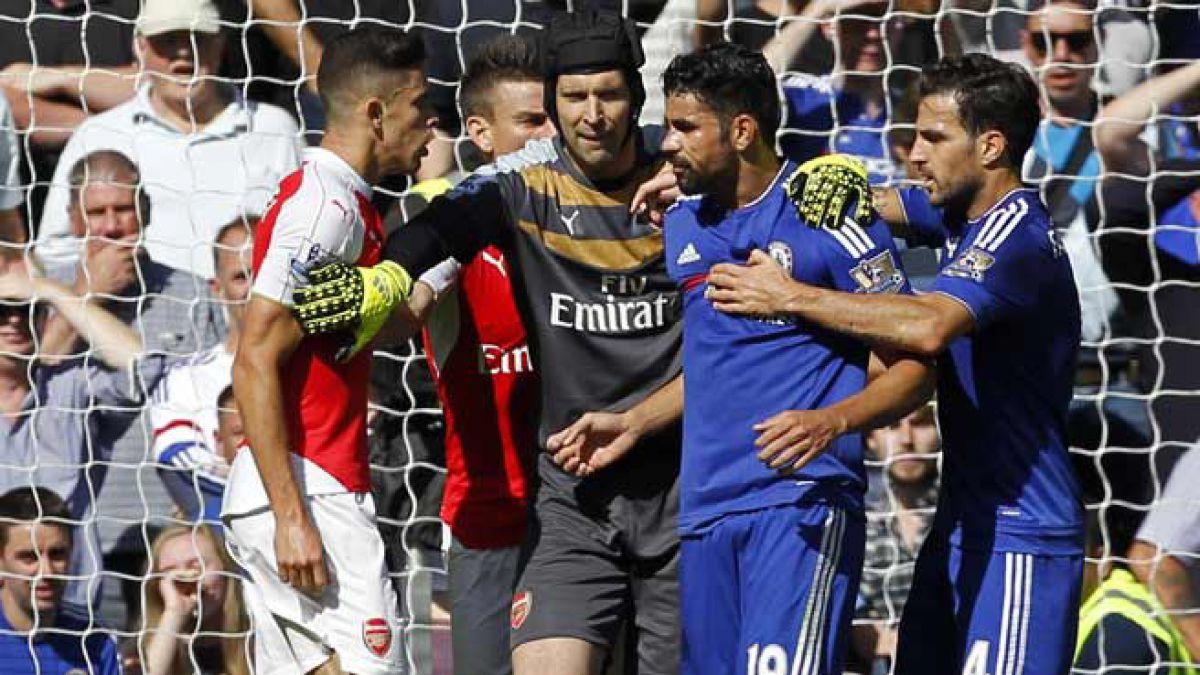 Por agresión Chelsea de Mourinho podría perder a su goleador