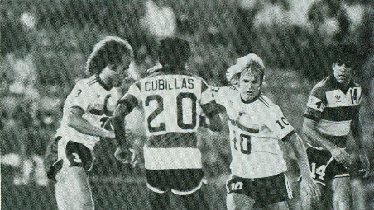 El año en que Bonvallet fue compañero de equipo de grandes estrellas del fútbol mundial