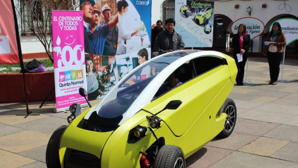 Vehículo eléctrico 100% chileno inicia gira por el país