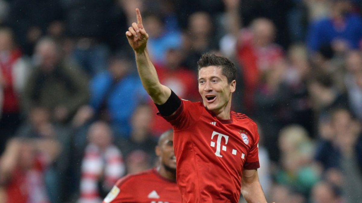 """Lewandowski festeja 5 goles en Twitter y con especial regalo: Fue una locura"""""""