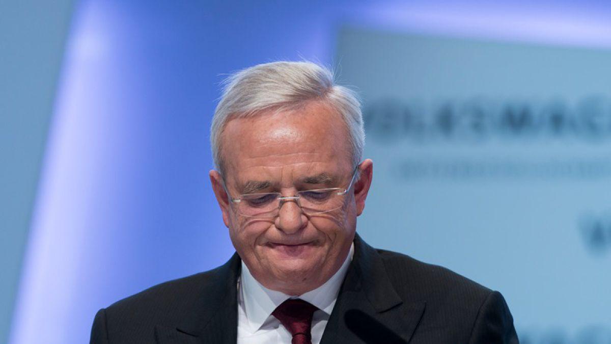 Renuncia el presidente de Volkswagen por escándalo de diésel