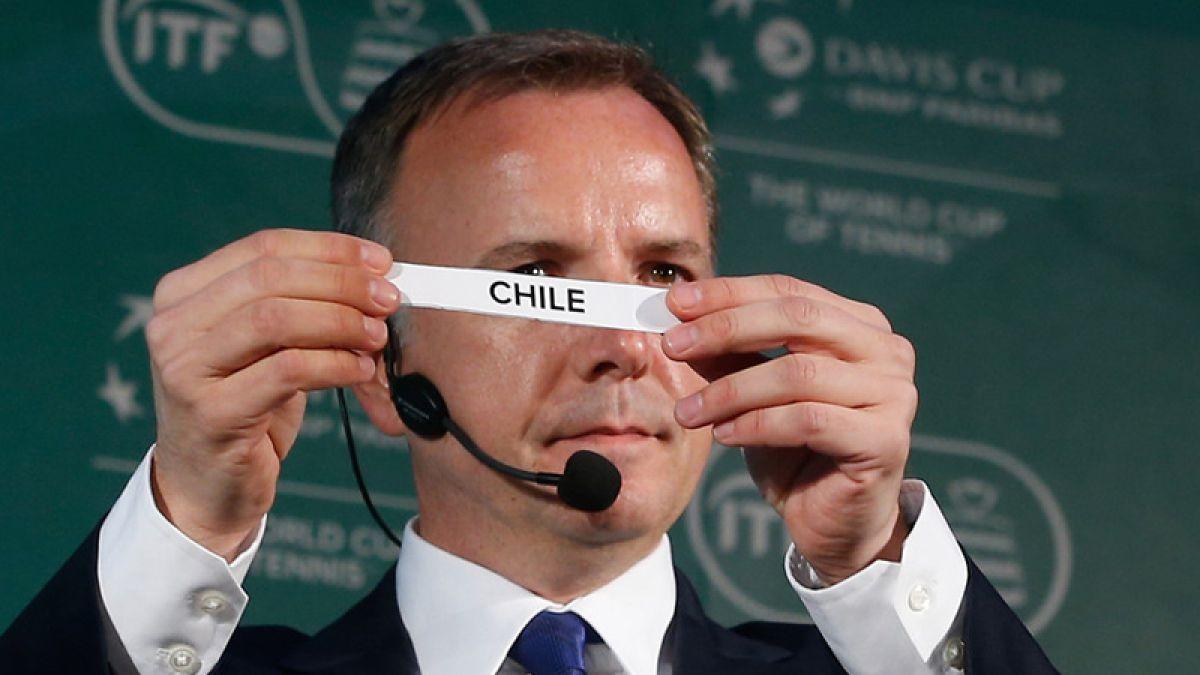 Copa Davis: Chile recibirá a República Dominicana en Zona I Americana
