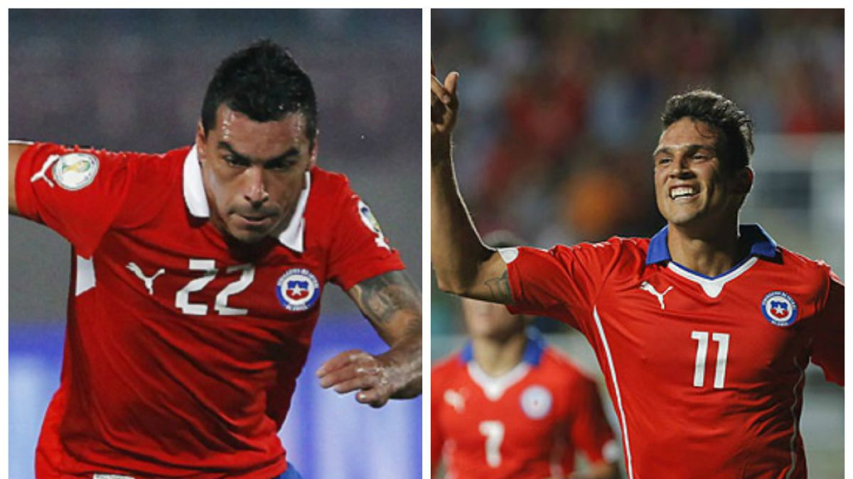 Esteban Paredes y Mark González volverían a la Roja para enfrentar a Brasil y Perú