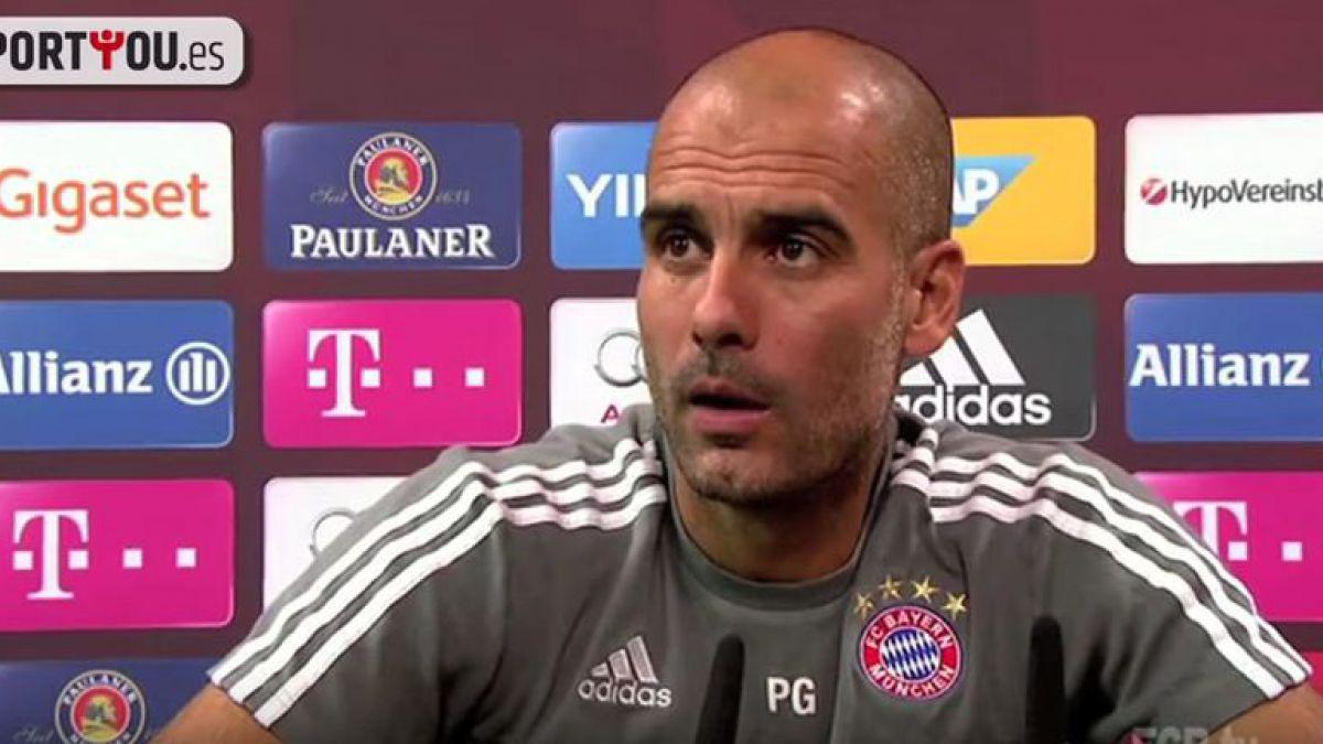 [VIDEO] ¡Se enojó! Guardiola dejó hablando solo a periodista en conferencia de prensa