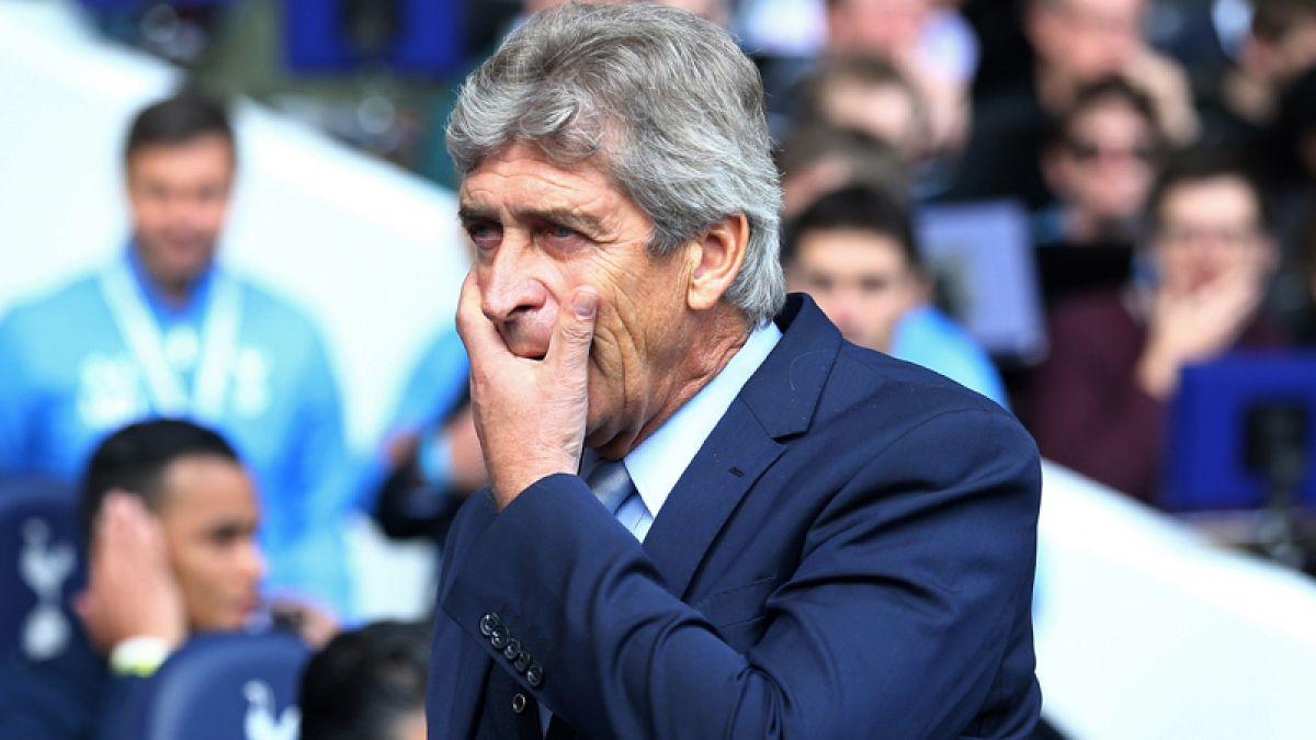 Duro golpe para Pellegrini: Manchester City pierde y cede la cima de la Premier League