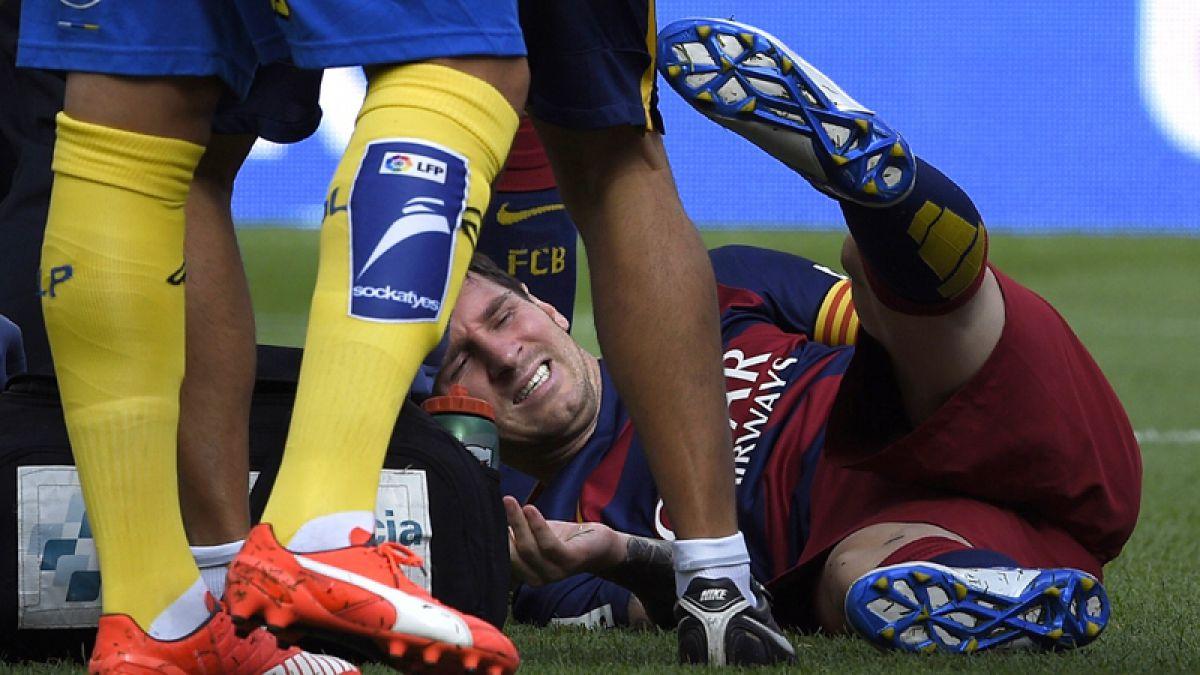 Messi sufre rotura de ligamento y se pierde las primeras fechas de las clasificatorias