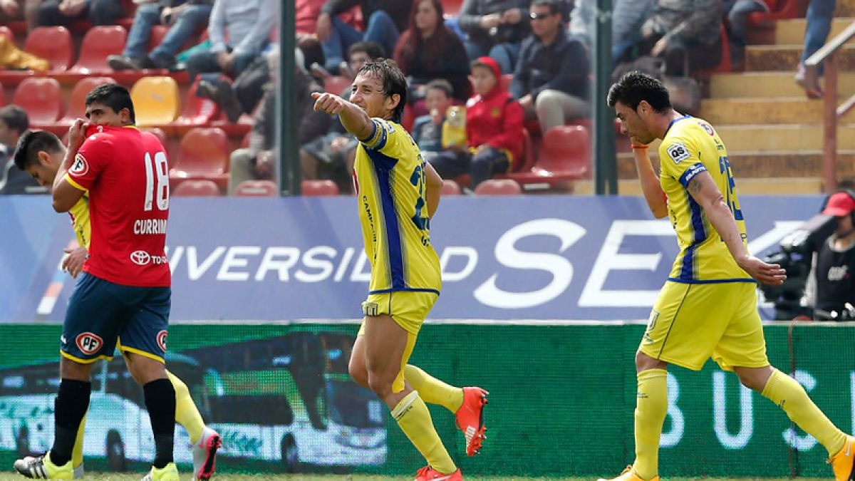 Felicitaciones: Gabriel Vargas marcó su gol 100 por Universidad de Concepción