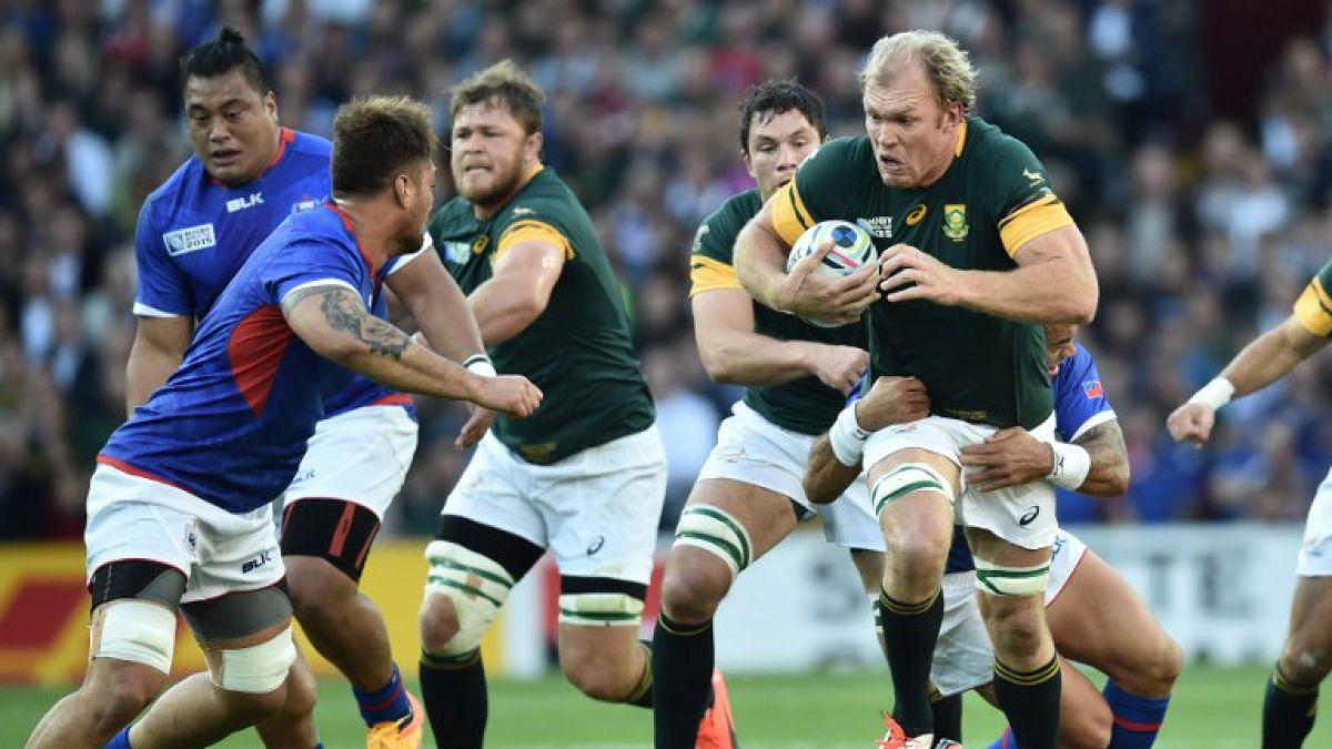 Mundial de Rugby: Sudáfrica se repone y vence a Samoa