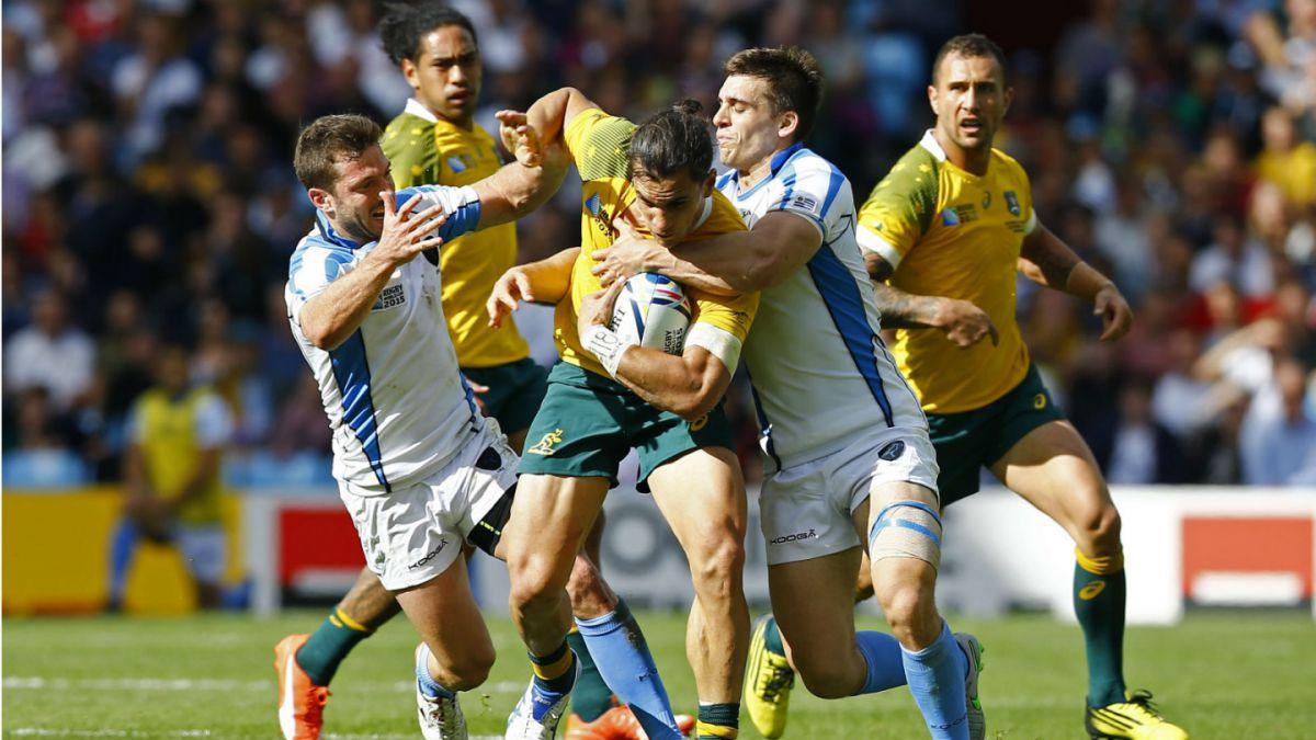 Uruguay sufre abultada derrota ante Australia en el Mundial de Rugby