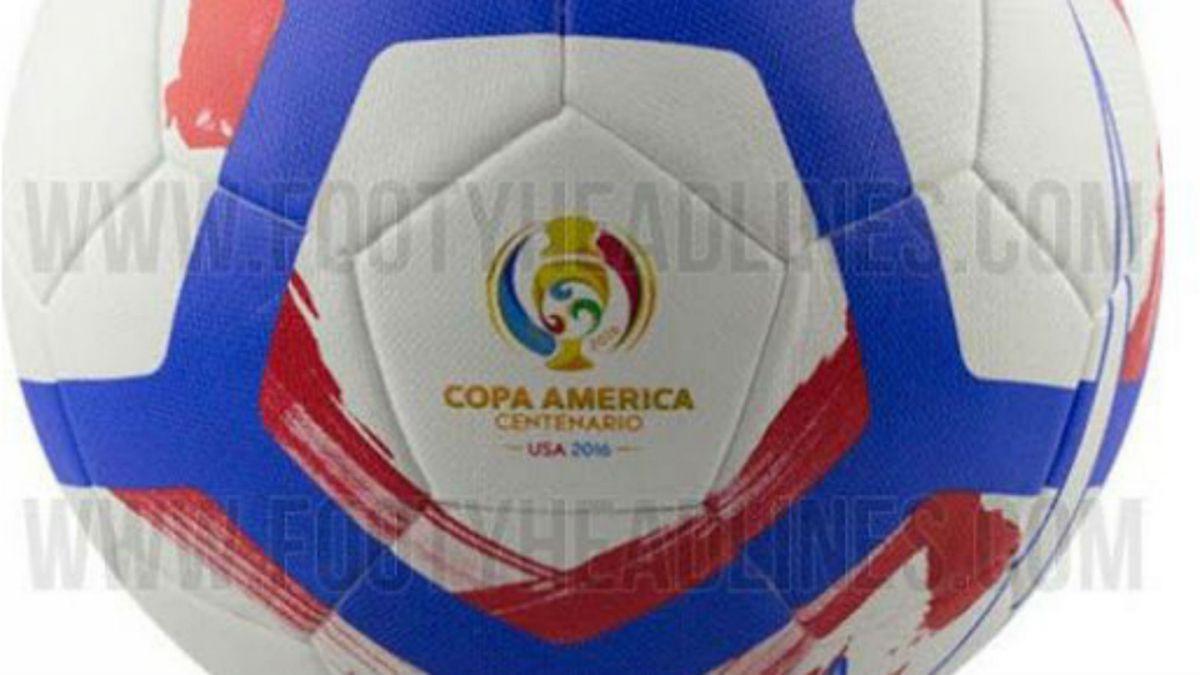 [FOTOS] Este sería el balón oficial de la Copa América Centenario 2016