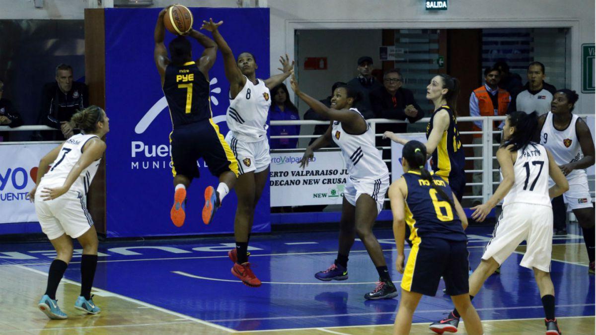 Básquetbol femenino: New Crusaders de Valparaíso consigue tercer lugar de Liga Sudamericana