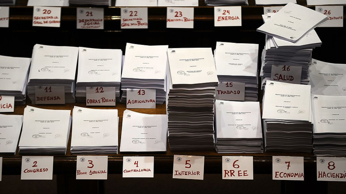 Ley de presupuesto debe ingresarse a más tardar el 30 de septiembre