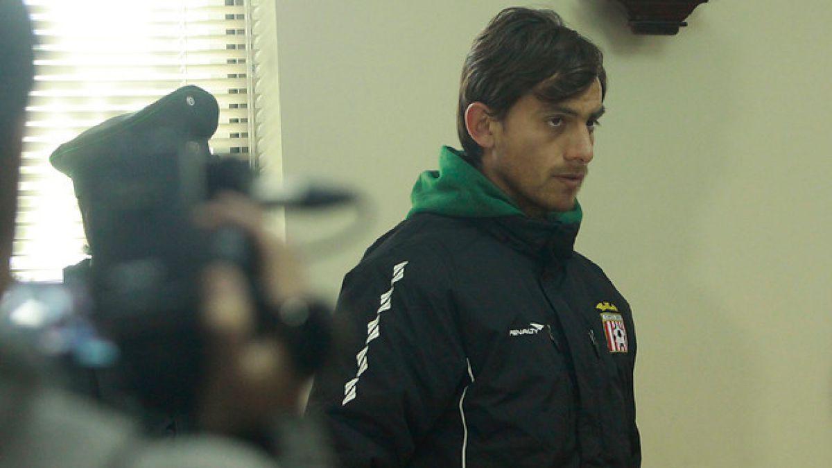 Ex mundialista Sub 20 formalizado por golpear a portero en estadio