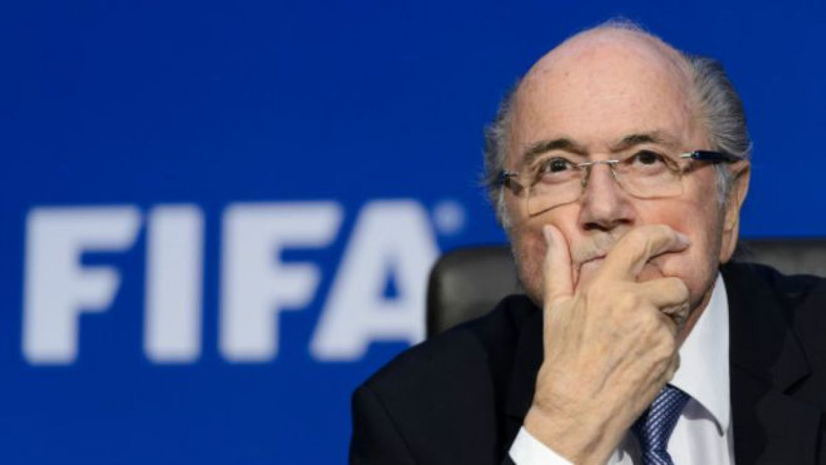 Nadie lo mueve: Joseph Blatter ratifica que dejará su cargo el próximo año
