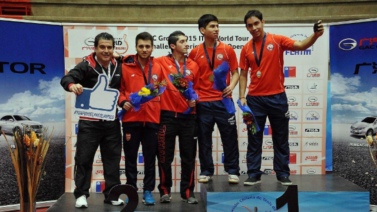 Tenis de mesa: Moya y Gómez los primeros campeones chilenos en Protour