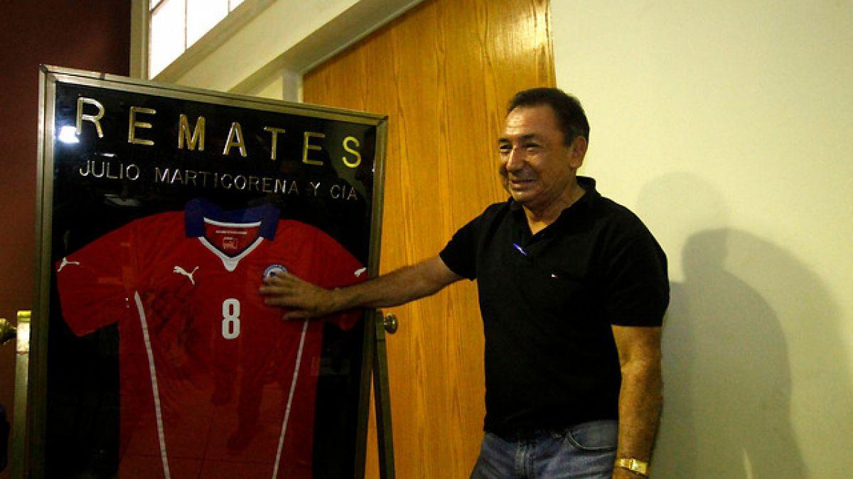 Camiseta donada por Arturo Vidal rematada en un millón y medio de pesos