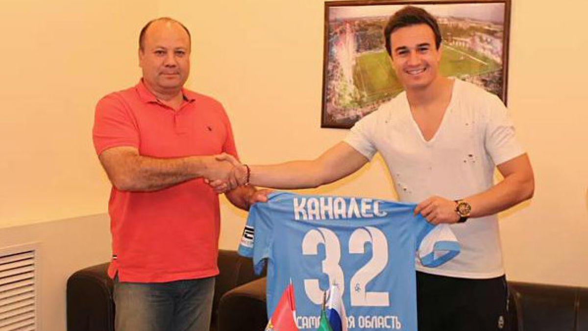 Nicolás Canales se convierte en nuevo jugador del Krylia Sovetov de Rusia
