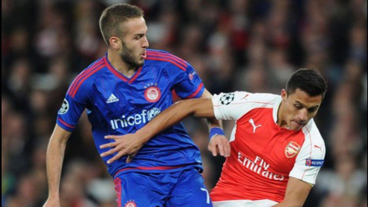 [VIDEO] El gol de Alexis en el duelo de Arsenal FC ante Olympiacos